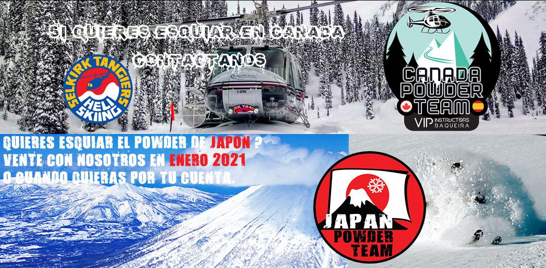 Te vienes a Canada o prefieres Japon
